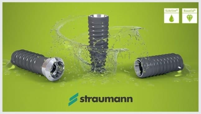 implante suíço straumann slactive