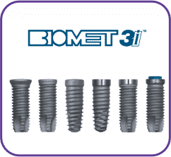 16 implantes biomet 3i