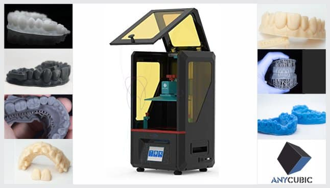 impressora 3D dental
